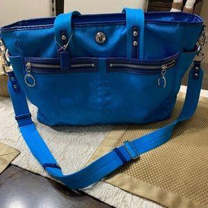 💕GUC Coach baby diaper bag
